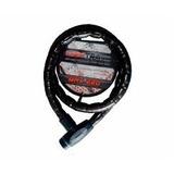 Cadeado Trava 22mm Espiral Max220 Corrente Moto, Estepe Bike
