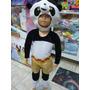 Disfraz De Oso Panda Niño Pequemania