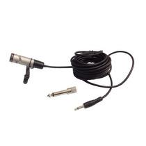 Microfone Condensador P2 Mono C/ Fio Lapela Yoga Sc 400