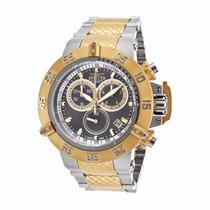 Relógio R20610 Invicta Subaqua Noma 15948 Aço Prata Dourado