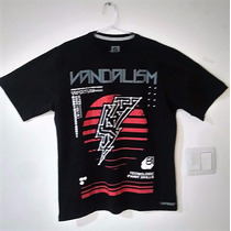 Camiseta Masculina Estampada Vandalism