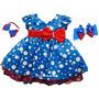 Vestido De Festa Infantil Tema Galinha Pintadinha Com Tiara