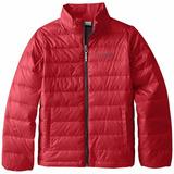 Chaqueta Columbia Sportswear Roja Niño L