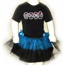 Disfraz Halloween Para Bebes - Pañalero+tutu - Kitty Kiss