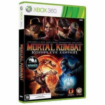 Mortal Kombat Komplete Edition - Xbox 360 - Lacrado