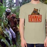 Camisa Star Wars Eco Ewoks - Ecológica Greenpeace Sith Jedi