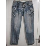 Calça Jeans Feminina Tam 36 Six One Usado Bom Estado