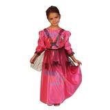 Disfraz Dama Antigua Fiestas Patrias Super Económico S 2-3