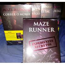 Correr O Morir Maze Runner 6 Libros+envio Gratis Dhl