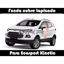 Funda Cubre Asiento Cuero Automotor T/bufalo P/ecosport. Mkr