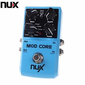 Pedal Mod Core Nux Pronta Entrega Flanger Chorus 8 Efeitos !