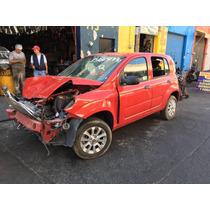 Yonke Fiat Uno 1.4 Std 2015 Refacciones Partes Huesario