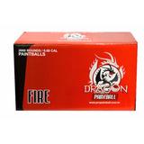 Bolinhas De Paintball .68 Dragon Fire - Pacote Com 500