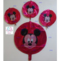 Globos Mickey Mouse Metalizados 20cm 45cm Decoracion Fiestas
