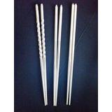 Palitos Chinos Chop-sticks En Acero Inox Precio X Cada Par
