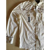 Camisa De Vestir Pavi Italy Manga Larga Xxl