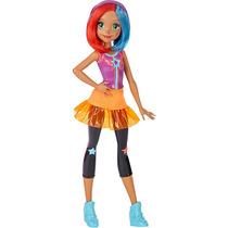Barbie Boneca Cabelos Coloridos Video Game Hero Mattel Dtw05