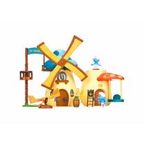 Brinquedo Os Smurfs Playset Moinho Dos Smurfs 211 Sunny