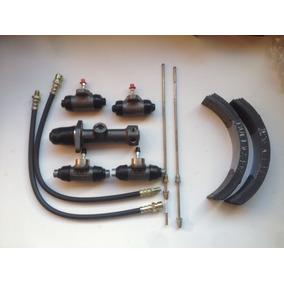 Conjunto Cilindro Mestre + 4 De Roda + 4 Flex Fusca 1300