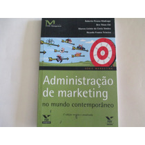 Administração De Marketing-livro Novo-fgv Editora Management