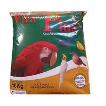 Ração Para Canários E Outros Pássaros Pequeno Porte 10kg