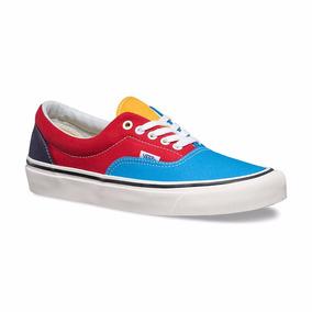 Zapatillas Vans Era De Dos Colores Modelo Unico!!