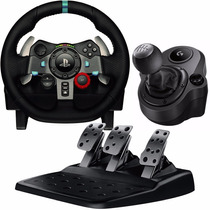 Volante Logitech G29 Pedalera Ps4 Ps3 Pc + Palanca Shifter