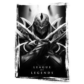 Camiseta - Zed | League Of Legends - 100% Algodão