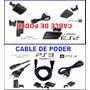 Cable De Poder Ps3 -ps2 Slim Nuevo Y Sellado Fenix Games Dx