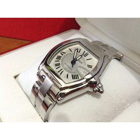 Cartier Roadster Large Acero Automatico 100% Original Caball