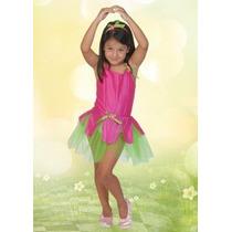 Disfraz De Flor Infantil Talle 3
