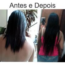 Mega Hair Tic Tac De Cabelo Humano Natural Preto +barato