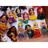 10 Apliques De Princesas ,superheroes En Porcelana Fria!!