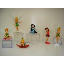 Tinker Bell Fadas Sininho Kit 6 Bonecas