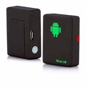 Rastreador Tracker Com Escuta Espiã Gps Botão Sos A8