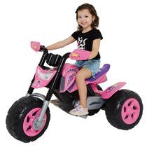 Mini Moto Elétrica Infantil Elite Rosa - Xalingo