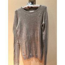 Sweater Largo Gilly Hicks Abercrombie And Fitch Importado