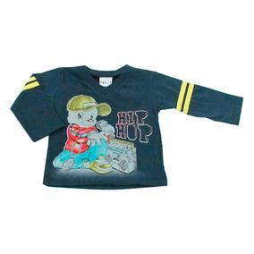 Camiseta Infantil Manga Longa Hip Hop
