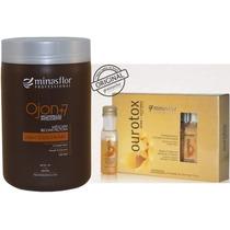 Minas Flor Ampolas Botox Ourotox + Mascara Ojon +7 1000kg