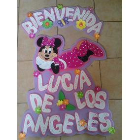Nombre En Foami Minnie Mouse