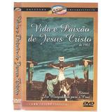 Dvd Vida E Paixao De Jesus Cristo-original/dublado-usado