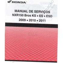 Manual De Serviço Moto Honda - Nxr 150 Bros Ks.es.esd. Pdf
