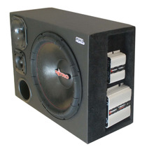 Caixa Trio Spyder Sub 15 Nitro D200 St200 Taramps T400 Tl600