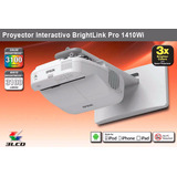 Proyector Interactivo Brightlink Pro 1410wi Wxga V11h480520