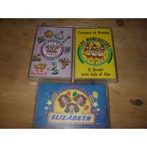 Las Muñequitas Elizabeth 3 Casset Originales Vol 2, 5 Y 6