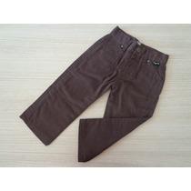 Calça Tigor T Tigre Jeans Baby Marrom T. 3p-