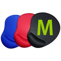 Mouse Pad C/ Apoio Ergonômico/ Base Emb. Tam. M - Polispuma