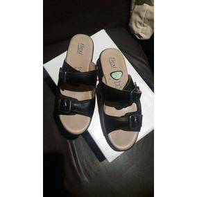 Sandalias Flexi 5.5 Color Negras Muy Comodas