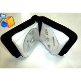Estuche Porta Cd Dvd Bluray Jemip 40 Discos Alta Calidad