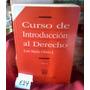 Curso Introduccion Al Derecho Olaso Tomo I